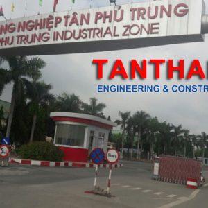 Lắp Dựng Khung Kèo Cũ 5000m2 ở Kcn Tân Phú Trung Củ Chi Tphcm