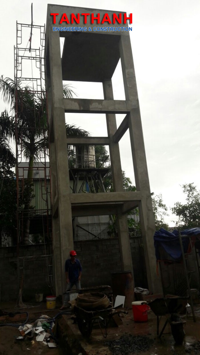 Văn phòng xưởng tháp nước 4