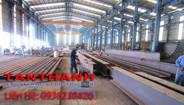 Công ty xây dựng nhà xưởng Tân Thanh