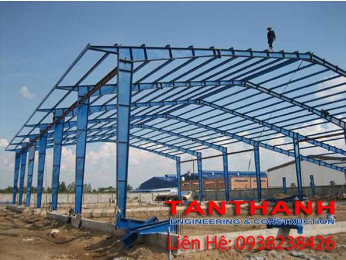 đơn giá xây dựng nhà xưởng khung thép
