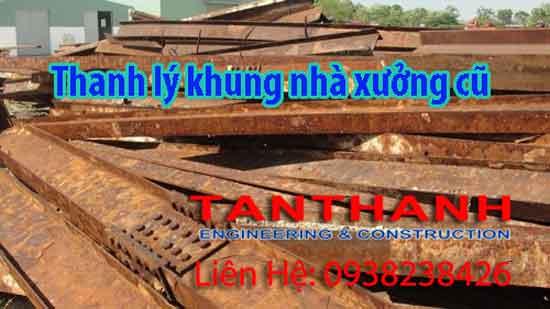 Thanh lý nhà xưởng tại Bình Phước chuyên nghiệp giá tốt