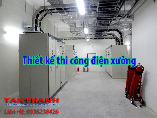 hệ thống điện xưởng