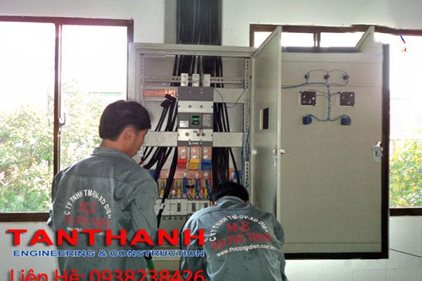 thi công điện nhà xưởng tại Bình Phước