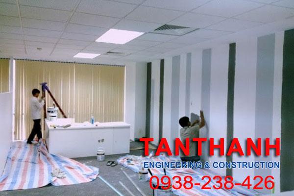 thi công sửa chữa văn phòng