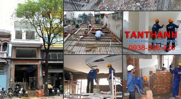 thi công xây dựng nhà ở tại Tphcm