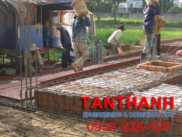Thi công xây dựng tại Long an