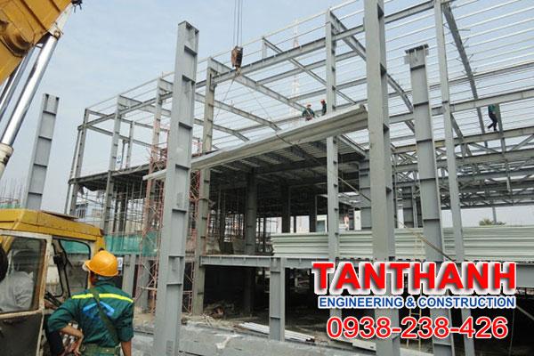 Nhà thép tiền chế tại Trà Vinh