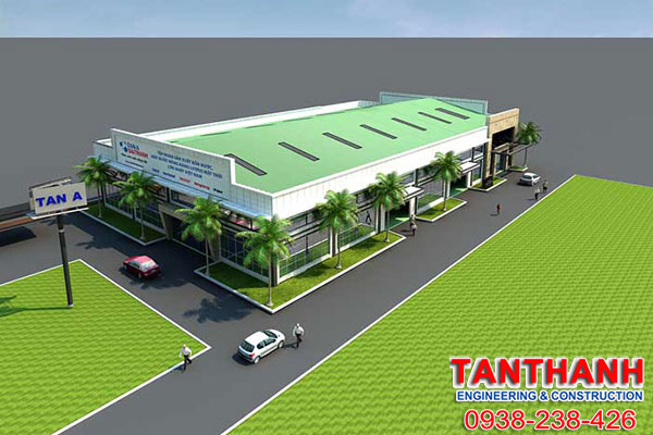 Thiết kế nhà xưởng tại Bình Phước