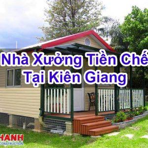 Nhà Xưởng Tiền Chế Tại Kiên Giang