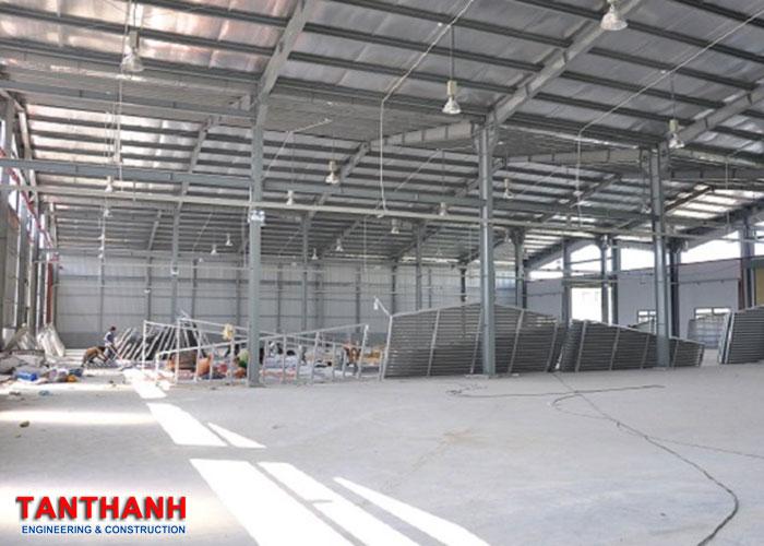 Mô Hình Thi Công Dự Án Nhà Xưởng Tại Tân Thanh