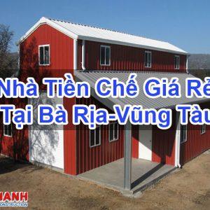 Nhà Tiền Chế Giá Rẻ Tại Bà Rịa-Vũng Tàu