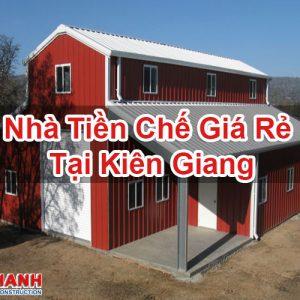 Nhà Tiền Chế Giá Rẻ Tại Kiên Giang