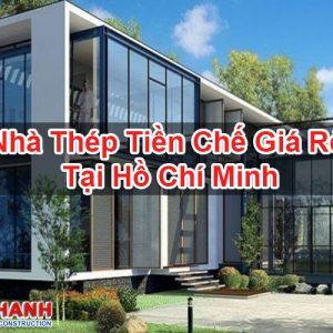 Nhà Thép Tiền Chế Giá Rẻ Tại Hồ Chí Minh