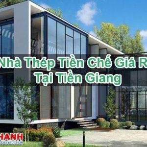 Nhà Thép Tiền Chế Giá Rẻ Tại Tiền Giang