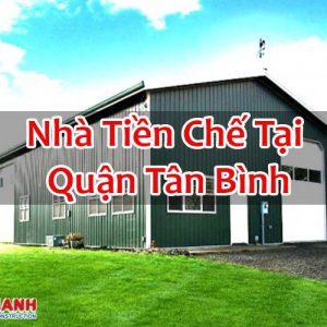 Nhà Tiền Chế Tại Quận Tân Bình