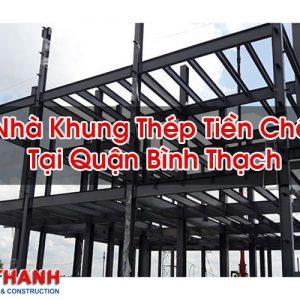 Nhà Khung Thép Tiền Chế Tại Quận Bình Thạch