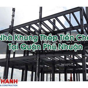 Nhà Khung Thép Tiền Chế Tại Quận Phú Nhuận