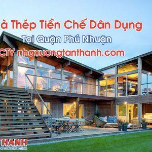Nhà Thép Tiền Chế Dân Dụng Tại Quận Phú Nhuận