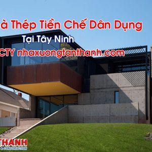 Nhà Thép Tiền Chế Dân Dụng Tại Tây Ninh