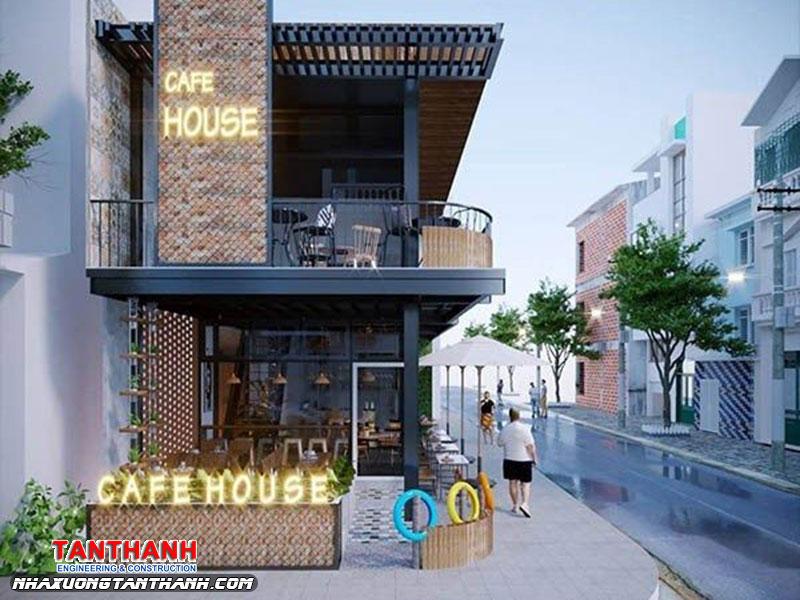 Quán Cafe Khung Thép Là Gì