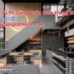 Quán Cafe Khung Thép Tại Bến Tre