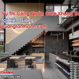 Quán Cafe Khung Thép Tại Kiên Giang
